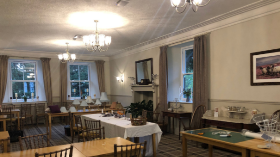 Function room at High Force Hotel