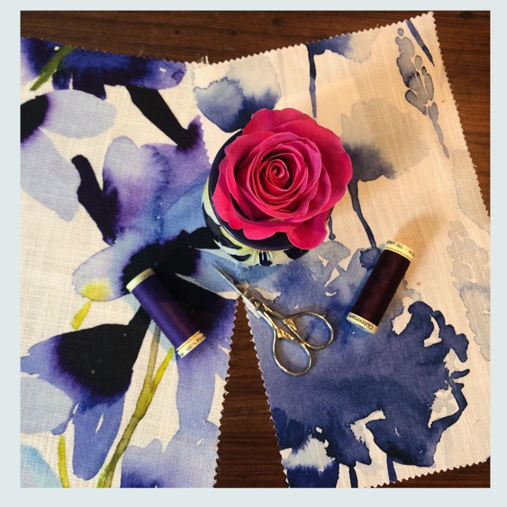 bluebellgrey, (one of Jacqueline's fabric suppliers),  fabric samples in hues of grey, fabric supplier for Jacqueline Schultz Interiors