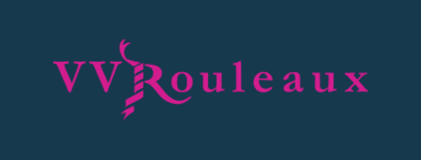 VVRouleaux logo, link to website, fabric supplier for Jacqueline Schultz Interiors