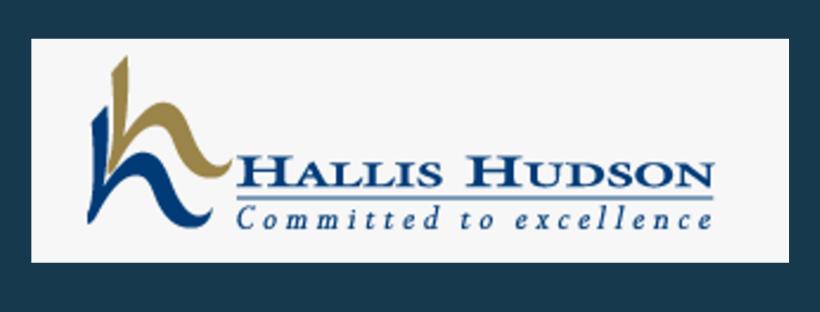 Hallis Husdon logo, link to website, fabric supplier for Jacqueline Schultz Interiors