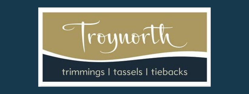 Troynorth logo, link to website, fabric supplier for Jacqueline Schultz Interiors