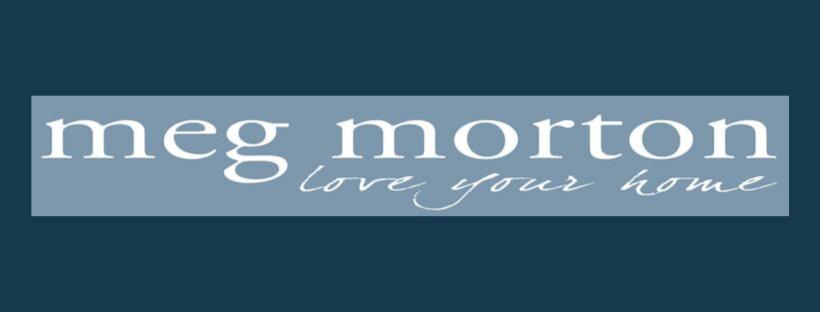 Meg Morton logo, link to website, fabric supplier for Jacqueline Schultz Interiors
