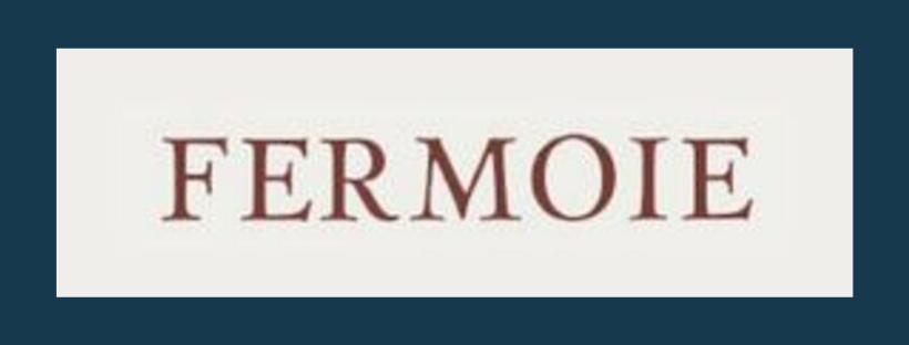 Fermoie logo, link to website, fabric supplier for Jacqueline Schultz Interiors